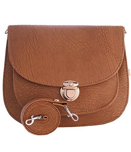 Fristo women slingbag(FRSB-035) Beige