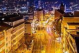 Wuppertal City Skyline Design XXL Wandbild Kunstdruck Foto