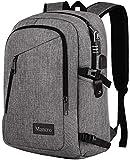 Laptop Backpack, Travel Computer Bag for Women & Men, Anti Theft Water Resistant College School Bookbag, Slim...