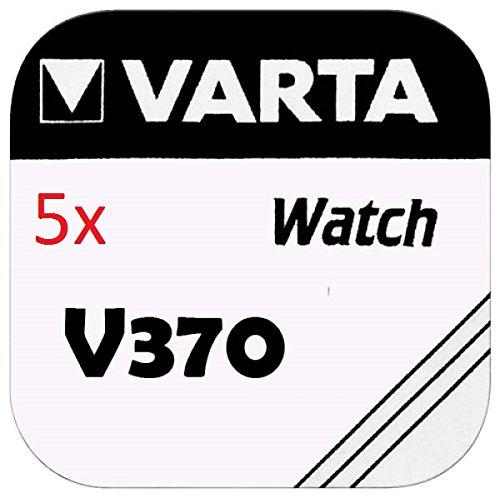VARTA KNOPFZELLEN 370 SR920W (5 Stück, V370)