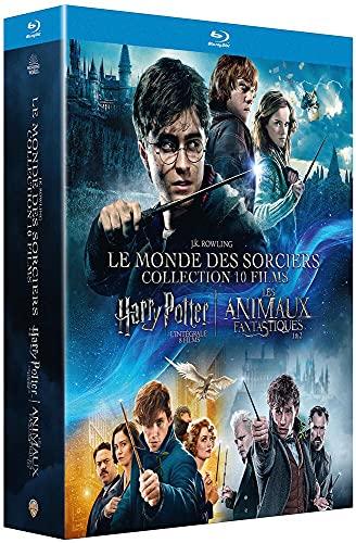 L'intégrale du Monde des sorciers : Harry Potter & Animaux fantastiques [Blu-ray]