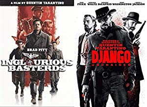 WILD VIOLENCE with This Quentin Tarantino Double Feature - Inglorious Basterds & Django Unchained 2-Movie Bundle