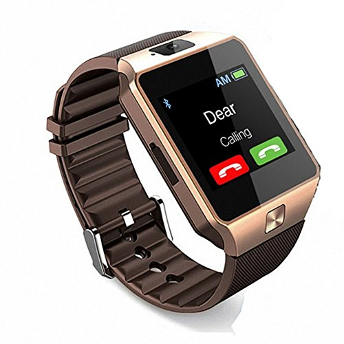 WellTech Bluetooth Smartwatch 3G, 4G Wrist Watch Phone with Camera and SIM Card Support for Vivo v9 and All Smartphones