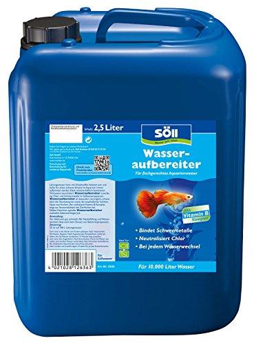 Söll Wasseraufbereiter 2,5 L Prodotto per la Cura dell acquario, Blu, für 10.000 Liter