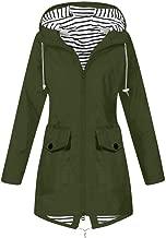 SEXYTOP Women's Winter Parka Warm Thicken Windbreaker Hooded Jacket Outdoor Waterproof Raincoat Casual Trench Outerwear