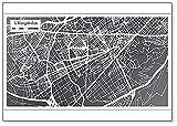 L'hospitalet España City Map In Retro Style – Imán para nevera
