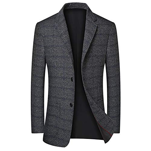 FOMANSH テーラードジャケット メンズ スーツ ジャケット 2つボタン ブレザー カジュアル ビジネス