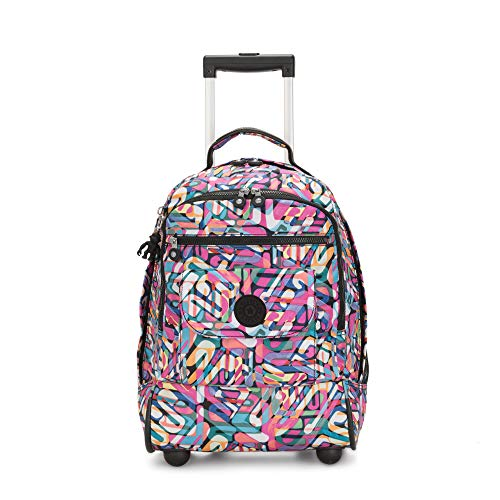 Kipling Sanaa Large Rolling Backpack Wild Melody