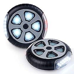 Aiworthy Kinderwagenlicht(2 Stück),Sehen und gesehen werden mit dem Kinderwagen,Passend für alle Kinderwagen, Bergsteiger Kinderwagen-Zubehör