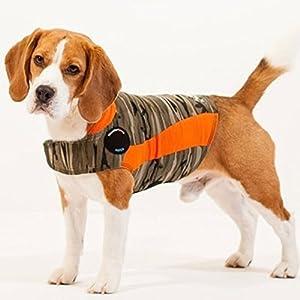 ThunderShirt Polo Dog Anxiety Jacket | Vet Recommended Calming Solution Vest for Fireworks, Thunder, Travel, & Separation