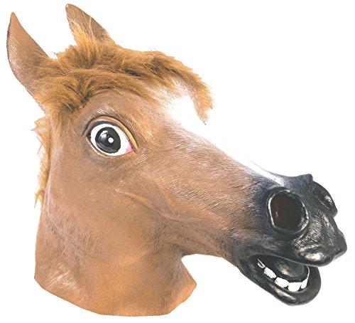Forum Novelties Brown Horse Deluxe Latex Farm Animal Costume Mask
