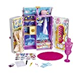 Nancy Famosa 700013050, Armario vestidor de cuento, accesorios para muñecas