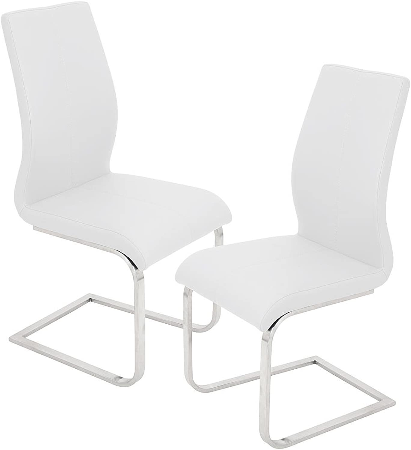 Best Master Furniture Dining Chair, White