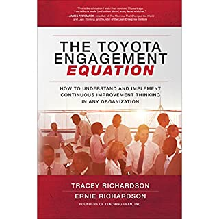 The Toyota Engagement Equation                   By:                                                                                                                                 Tracey Richardson,                                                                                        Ernie Richardson                               Narrated by:                                                                                                                                 Todd Belcher                      Length: 6 hrs and 51 mins     1 rating     Overall 4.0