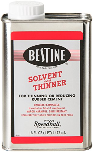 Bestine Solvent And Thinner-1 Pint