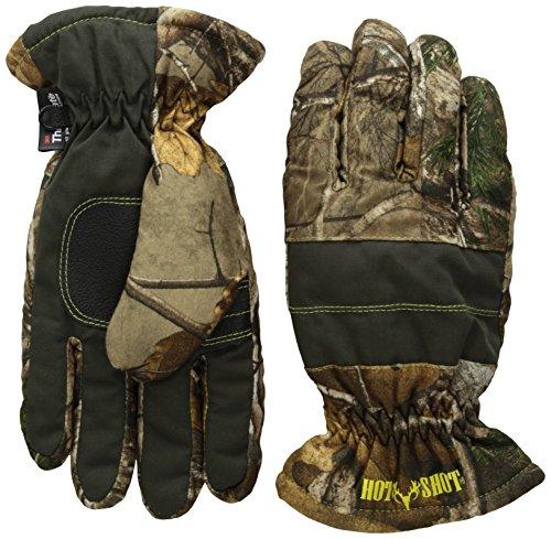 HOT SHOT Defender Camo Hunting Glove, Realtree Xtra, Mediu