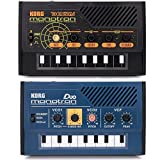 Korg Monotron Duo and Delay Analog Ribbon Synthesizer Synth Bundle...