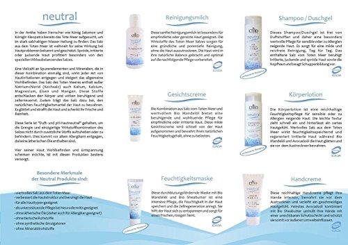 CMD Neutrale gezichtscrème met zout van de dode zee