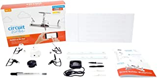 Circuit Scribe Drone Builder Kit-Build & Fly Your Own Drone with The Drone Builder Kit- Includes Conductive Ink Pen, 4 Motors, 8 Propellers & Drone Hub with On-Board Camera