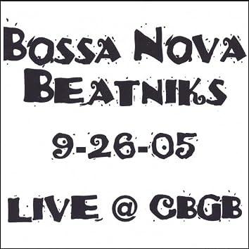Live @ Cbgb 9-26-05
