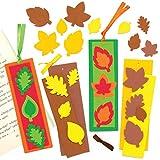 Baker Ross AX287 Herbst Lesezeichen Bastelset Für Kinder - 8 Stück, Kreativsets Und Bastelbedarf Für Kinder Zum Basteln Und Dekorieren In Der Herbstzeit