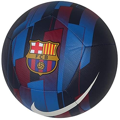 Nike FC Barcelona Pitch Ball DC2237-451; Womens,Childrens,Mens Footballs; DC2237-451_5; Navy; EU; ( UK)