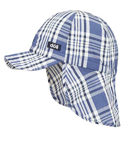 Döll Baby-Jungen Baseballmütze mit Nackenschutz Kappe, Blau (Ensign Blue|Blue 3890), 49