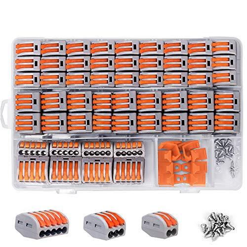 shirylzee Conectores eléctricos rapidos120...