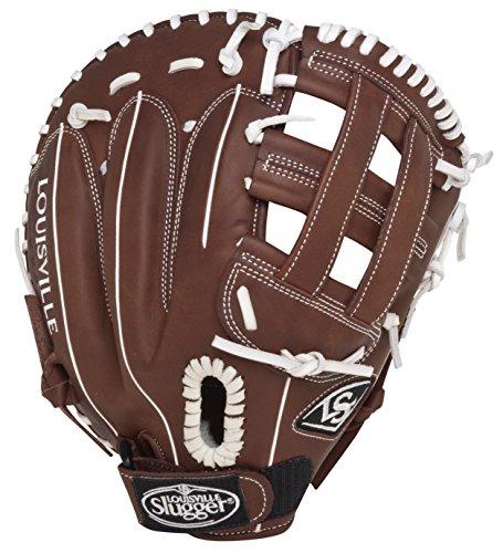 Louisville Slugger FGXPBN5 Xeno Pro Brown Fielding Glove (First Base), Left Hand Throw