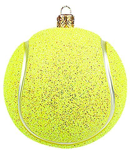 Impuls Christbaumschmuck Figuren Sport Tennisball 5cm
