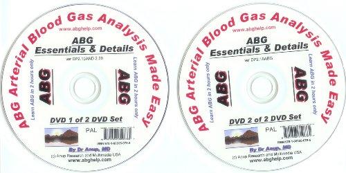 ABG -- Arterial Blood Gas Analysis Made Easy - 2 DVD Set (PAL Format)