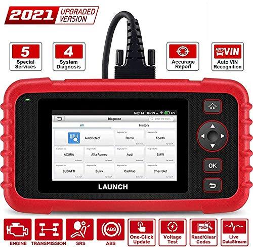 LAUNCH CRP129X Escáner OBD2 Lector de Códigos Diagnosis Profesional con AutoVIN para Motor Transmisión ABS SRS Airbag EPB SAS TPMS y Aceleración con Updates por Wi-Fi