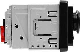 Gecheer Car Stereo MP3 Player FM Radio BT Speaker AUX in SD Card/U Disk Music Playback Silver