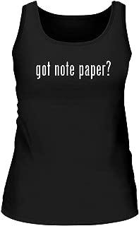 Shirt Me Up got Note Paper? - A Nice Women's Tank Top