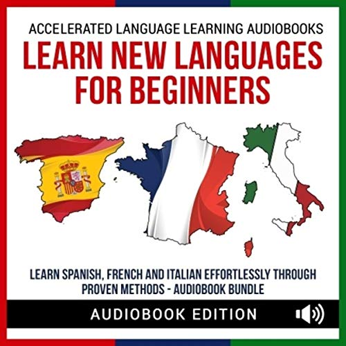 Learn New Languages for Beginners audiobook cover art