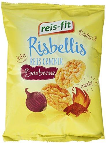 reis-fit Risbellis Reis Cracker Barbecue, 40 g