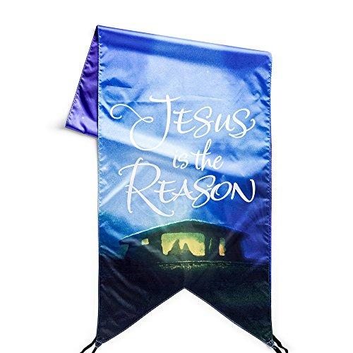 Dayspring Jesus is The Reason - Christmas Door Banner