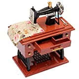 SOUND HOUSE 641 Vintage Mini Treadle Sewing Machine Mechanical Music Box