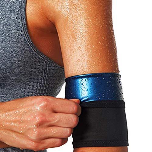 StyleBest Cortadores de brazo para hombres y mujeres, para sudar las mujeres brazaletes de compresión de sudor adelgazantes para perder peso