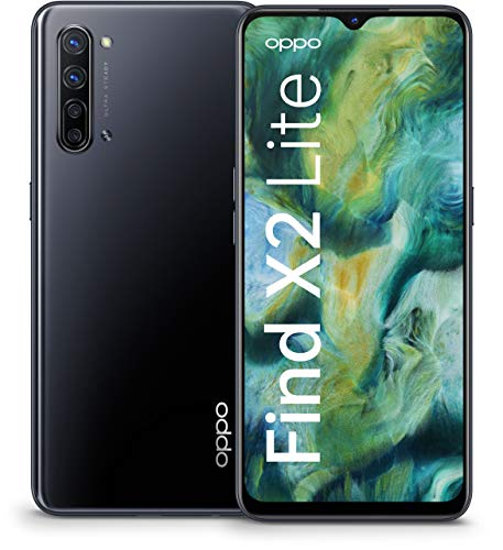 Oppo Find X2 Lite – Smartphone 128GB, 8GB RAM, Single Sim, Moonlight Black