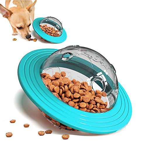 Achort Hund Spielzeug Ball ungiftig Bite resistent Spielzeug Ball für Hunde Welpen, Hundefutter Treat Feeder Zahn Reinigung Ball, Hunde Übung Spiel Ball IQ Training Ball