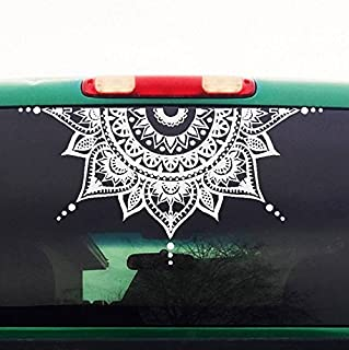 Best half mandala car decal Reviews