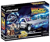 Playmobil Back to the Future 70317 DeLorean mit Lichteffekten, Ab 6 Jahren, Mehrfarbig