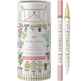 Primrosia 24 Pastel Dual Tip Markers, Fine Tip and Brush. Perfect for art, illustration, drawing, calligraphy and bullet journals
