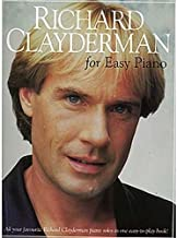 Richard Clayderman For Easy Piano. Partitions pour Piano et Guitare(Symboles d'Accords)