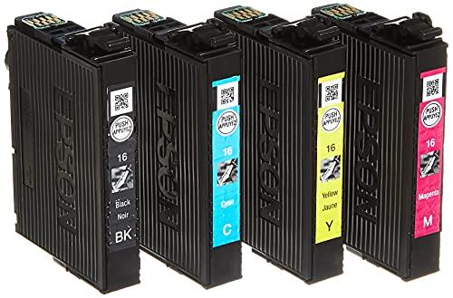 Epson C13T16264012 - Cartucho de tinta, color (4 unidades)