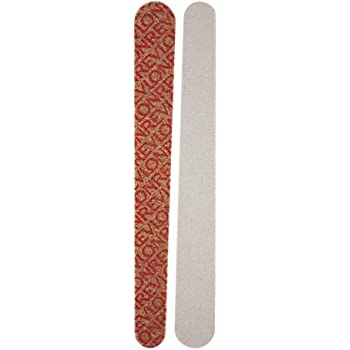 Revlon Compact Emery Boards Nail File, Dual Sided Manicure and Pedicure Tool for Shaping and Smoothing Finger and Toenails, 10 Count