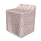 Ambesonne Cherry Blossom Washer Cover, Japanese Flowers Symbolic of Spring in a Random Arrangement, Suitable for Dryer and Washing Machine, 29' x 28' x 40', Coral Pale Green Brown