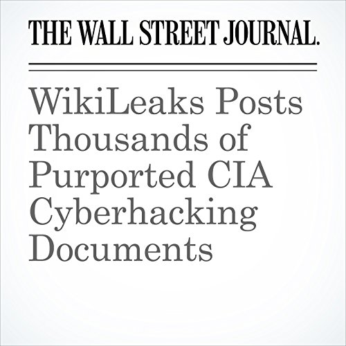 WikiLeaks Posts Thousands of Purported CIA Cyberhacking Documents copertina