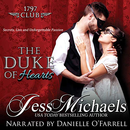The Duke of Hearts (The 1797 Club) audiobook cover art